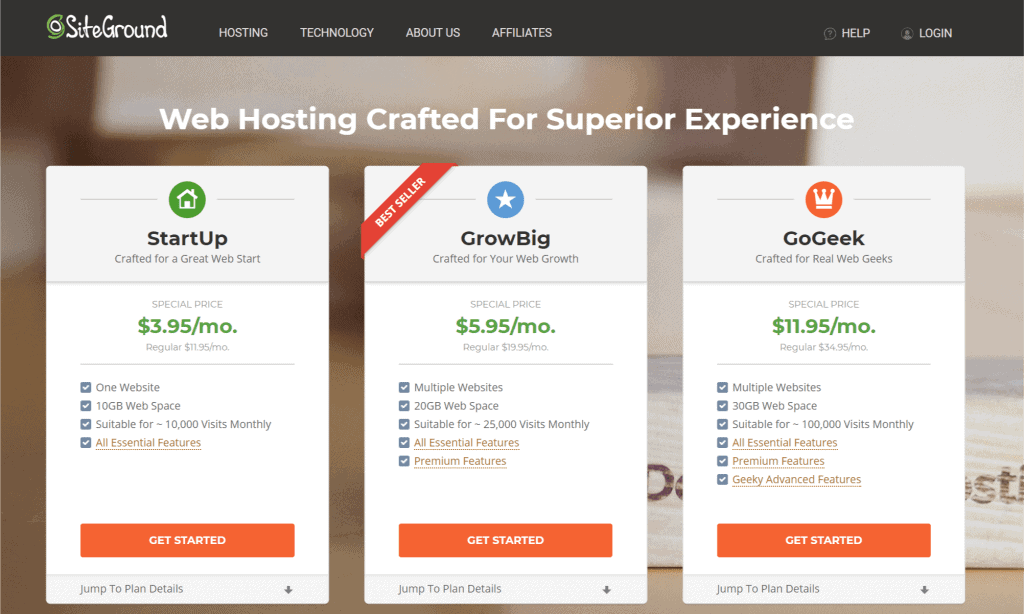 SiteGround - Best Web Hosting for WordPress