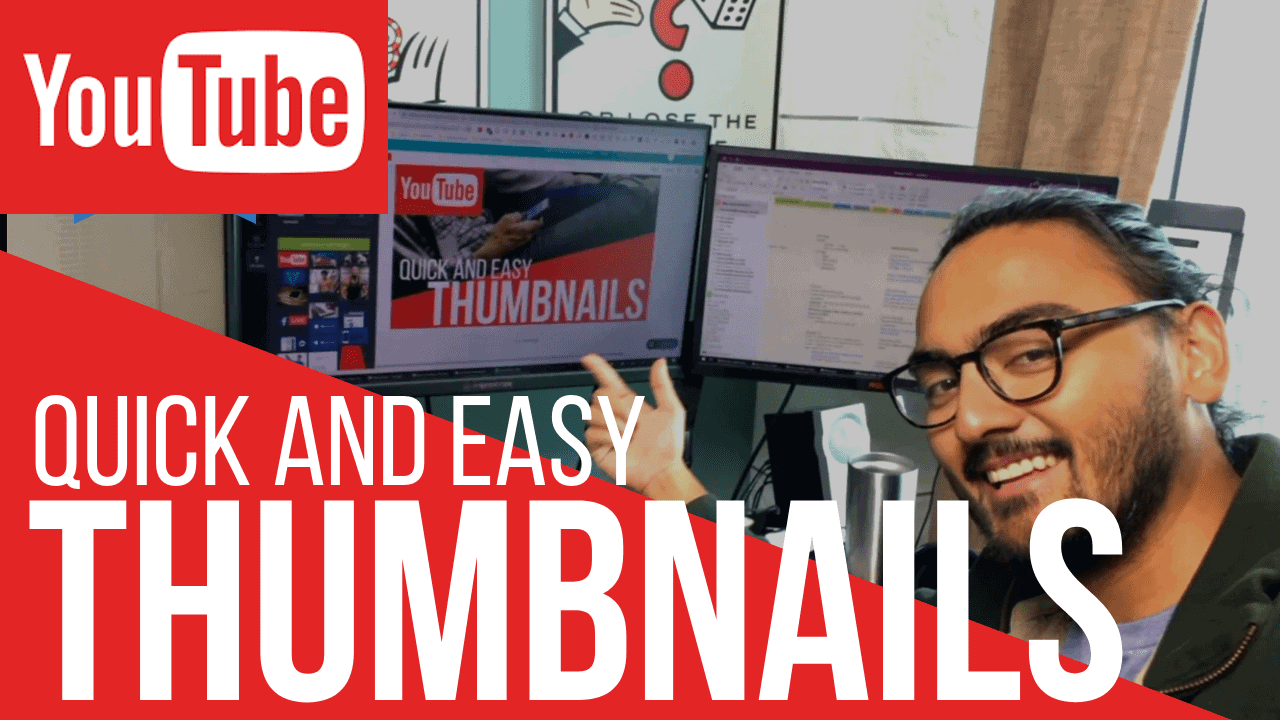 How To Make a Thumbnail for Youtube - Blendlogic
