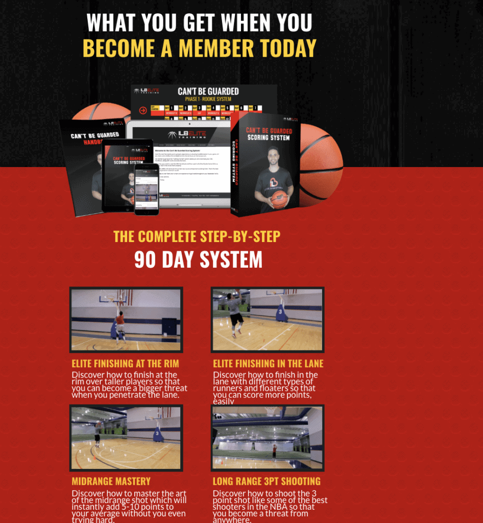 ILoveBasketball Squeeze Page - Explainer