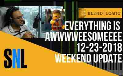 Weekend UPDATE #SNL STYLE – EVERYTHING IS AWESOME