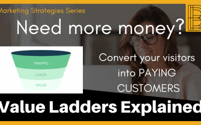Why your business is STUCK – LACK OF VALUE LADDER