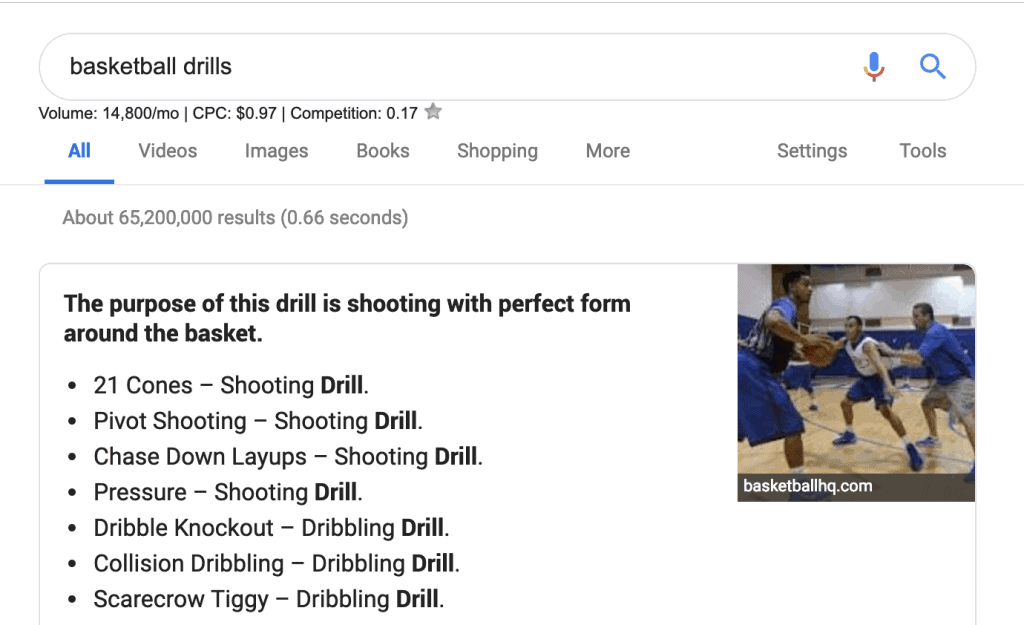 How to Become an SEO Expert - Basketball Drills