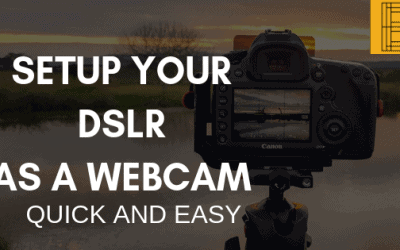 Virtual Cam OBS Plugin – How to get your DSLR as WebCam