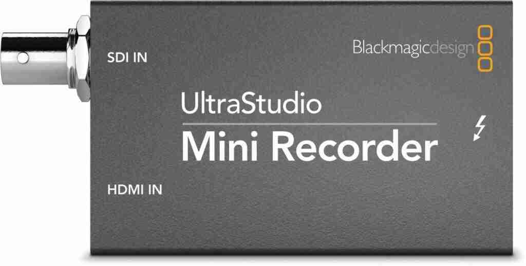 BlackMagic Design Mini Recorder Review