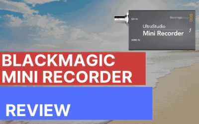 Blackmagic Design Ultrastudio Mini Recorder Review – How to Stream with your DSLR